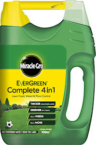 Miracle-Gro Evergreen Complete 4 in 1 Spreader