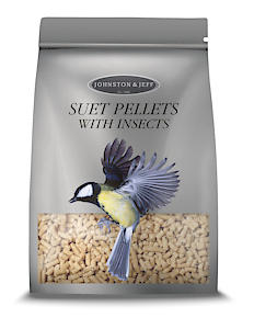 Johnston & Jeff Suet Pellets With Insects Bird Food