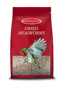 Johnston & Jeff Dried Mealworms Bird Food