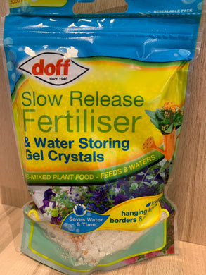Doff Fertiliser & Water Storing Gel Crystals