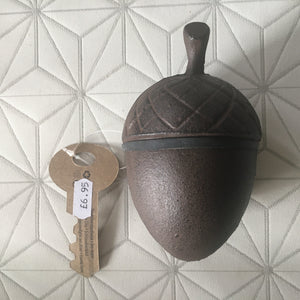 Acorn Key Keeper - Cast Iron