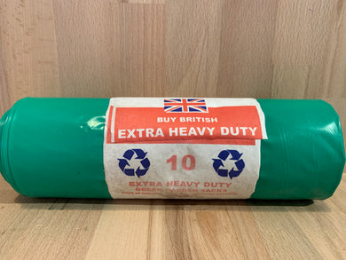 Extra Heavy Duty Green Garden Sack