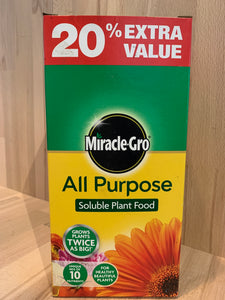 Miracle-Gro All Purpose Soluble Plant Food
