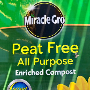 Miracle-Gro Peat Free Multipurpose Compost