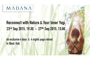 Yoga Retreat :: Wind down & Yoga Away in Bali