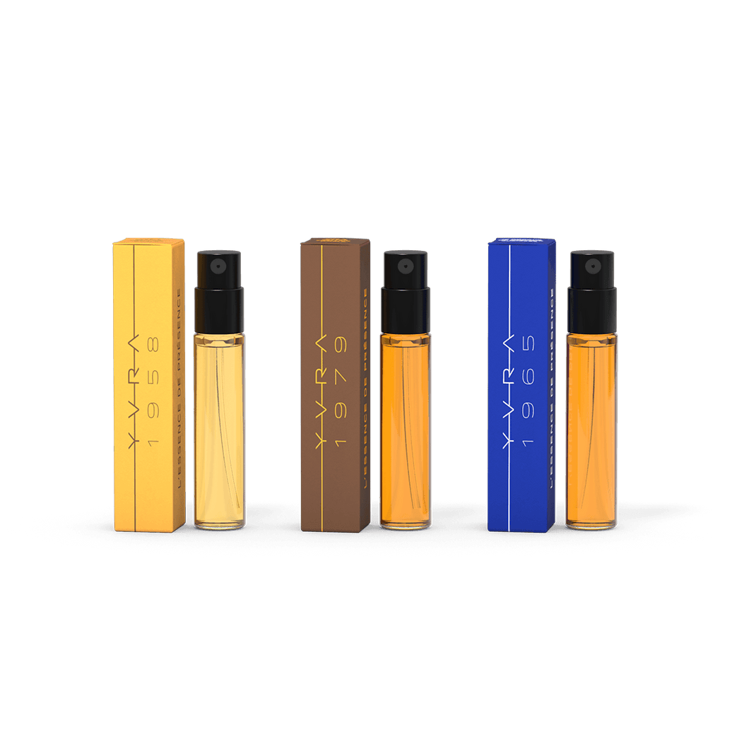YVRA Discovery Set (All 3 Scents) 3x2ml