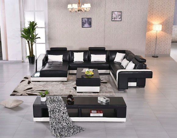 african style furniture. Esife Soft African Style Furniture Genuine Leather U-shaped Sectional Sofa Set Combination