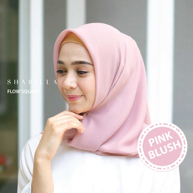 FLOW SQUARE - PINK BLUSH