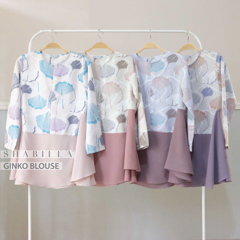 GINKO BLOUSE - BABY ROSE