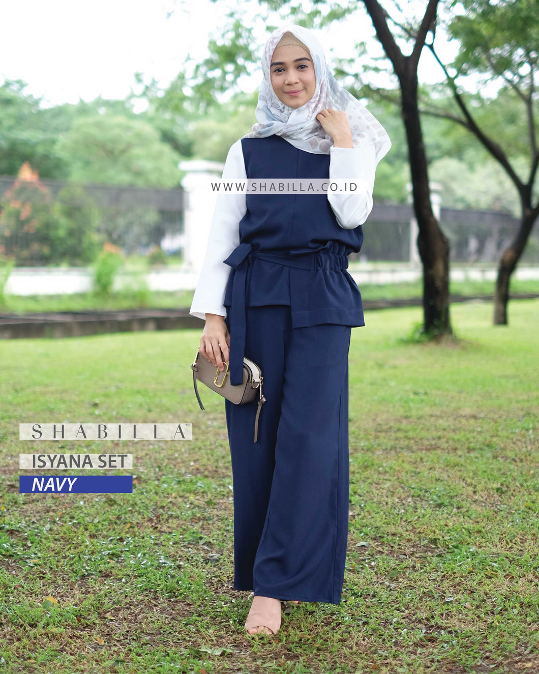 ISYANA SET - NAVY