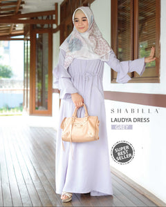 LAUDYA DRESS - GREY