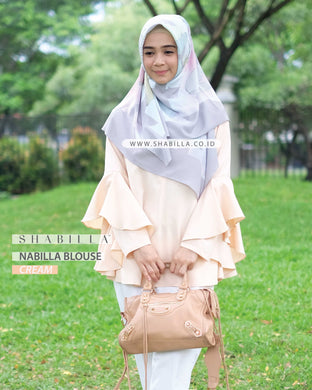 NABILLA BLOUSE - CREAM