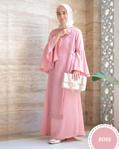SHABILLA DRESS - ROSE