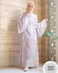 SHABILLA DRESS - GREY