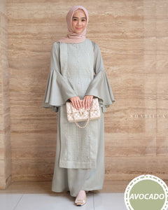 SHABILLA DRESS - AVOCADO