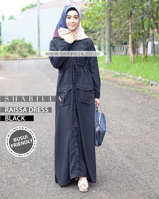 RAISSA DRESS - BLACK