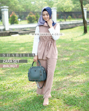 ZARA SET - WALNUT