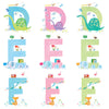 Illustrated alphabet by Julie Fletcher
