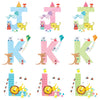 Personalised Illustrated Alphabet Letter Children's Writing Set