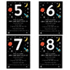 Personalised Space Children's Birthday Invitations