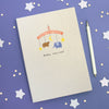Personalised Baby Mobile A5 Cloth Bound Notebook