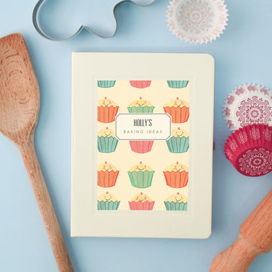 Personalised Baking Hardback Lined Notebook