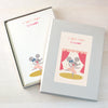 Personalised Children's Writing Set With Mouse Design