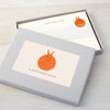 Personalised writings set with space hopper design