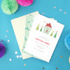 Personalised Christmas Party Invitations With Envelopes
