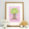 Fairy print for children with personalisation