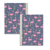 Personalised Flamingo Pattern Notebook