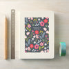 Personalised Flower Pattern Notebook