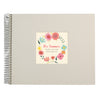 Personalised Floral Thank You Teacher Spiral Bound Book