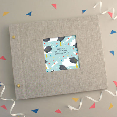 Personalised Graduation Pattern Photo Album