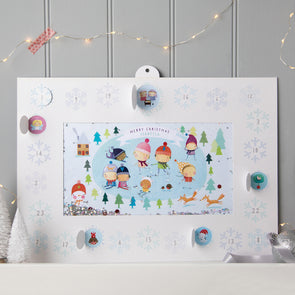 Personalised Shakies Ice Skating Advent Calendar