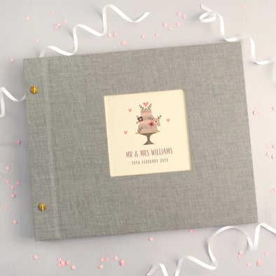 Personalised Wedding Cake Photo Album