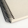 Personalised Typographic Spiral Bound Guest Book