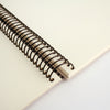 Personalised Typographic Spiral Bound Book
