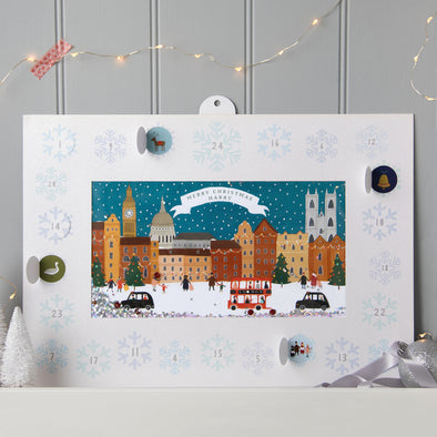 Personalised Shakies London Advent Calendar