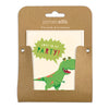 Pack of Five Dinosaur Invitations by James Ellis