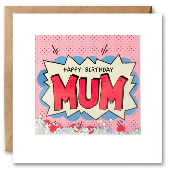 PK2609 - Mum Birthday Kapow Shakies Card