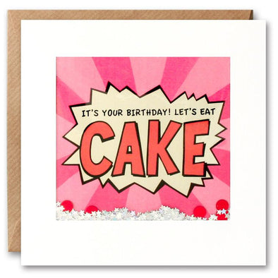 PK2659 - Eat Cake Kapow Shakies Card