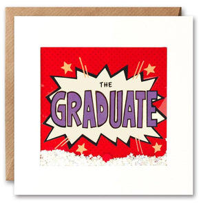 PK2687 - The Graduate Kapow Shakies Card