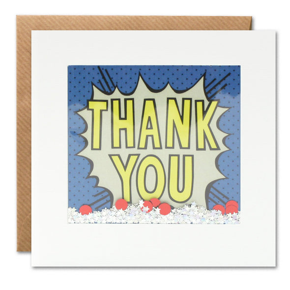 PK2906 - Thank You Kapow Shakies Card