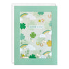 Clovers Good Luck Card with Paper Confetti - Paper Shakies by James Ellis