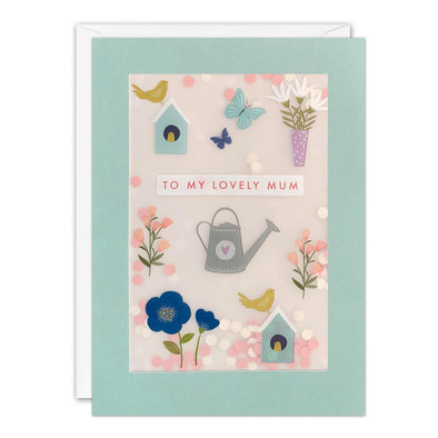 PL3561 - Gardening Mother's Day Paper Shakies Card
