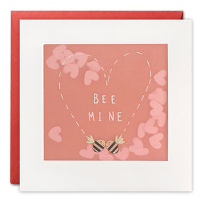 PP3305 - Bee Mine Paper Shakies Card