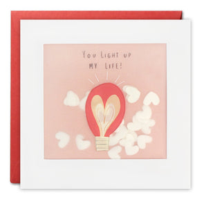 PP3309 - Light Up My Life Paper Shakies Card