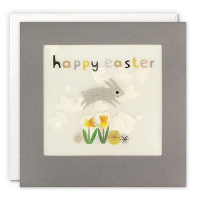 Bunny Easter Card with Paper Confetti - Paper Shakies by James Ellis
