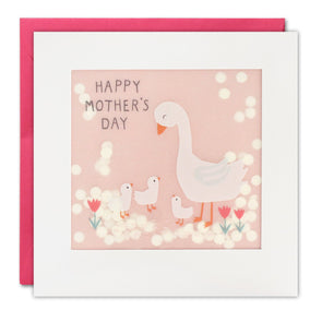PP3368 - Mother's Day Geese Paper Shakies Card